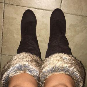 Report fur boots!!!